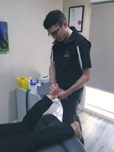 Aaron foot mobilisation